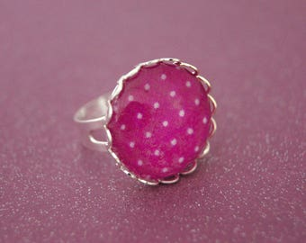 PURPLE - BA010 DOTS RING