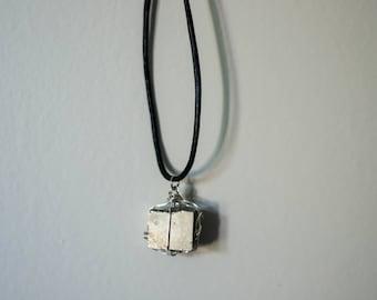 Iron Pyrite Necklace