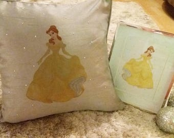 Disney inspired cushion and frame giftset