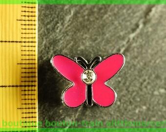 busy N3 Butterfly bead for bracelet 8 mm