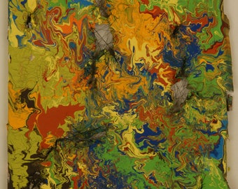 Destruction - Acrylic Painting