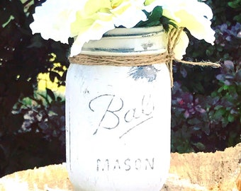 Rustic Vases, wedding centerpieces, wedding or baby shower centerpieces, or a home accent piece
