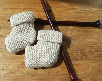 BABY BOOTIES - Handmade - Made to order -