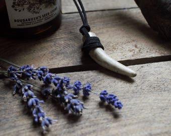 Real Antler Tip Necklace