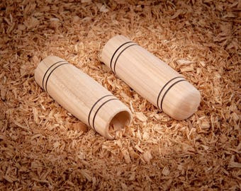 Classy Cherry Wood  - classy wooden grips