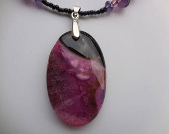 a dream of pink and purple agate