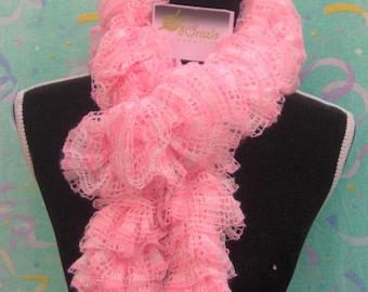 Pink gradient scarf scarf