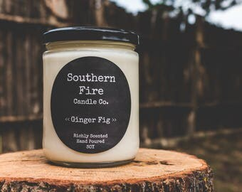 Ginger Fig  candle