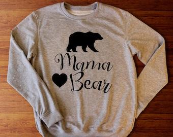 Mama bear sweatshirt, Mama bear shirt, Momma bear, Mama bear tee, Mama bear sweater, Mama bear tshirt, Mama sweatshirt