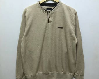 Rare!!! Up To You by Kansai Yamamoto Pullover Spellout 2 Buttons Up