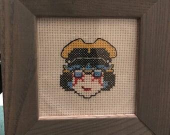 Windblade Framed Cross Stitch