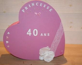 wedding anniversary heart pink urn Orchid Princess