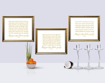 Bob dylan print quote printable may you stay forever young horizontal gold color print may you stay forever young song lyrics bob dylan stopboris Images