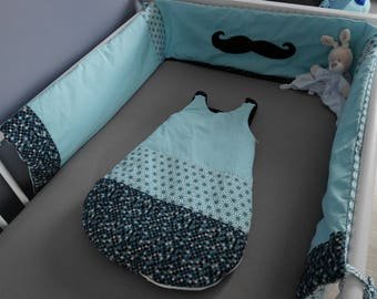 "Sleeping bag and bed Tower ""Mustache"""