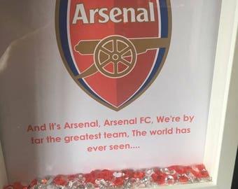 Arsenal Fc box frame