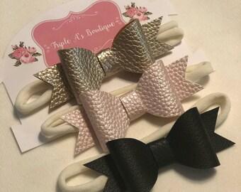 3 pack newborn headbands.