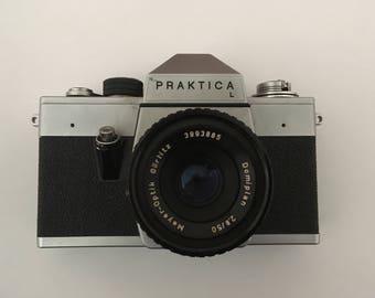Praktica L Vintage film camera for decoration or parts