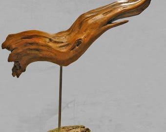 """natural Driftwood """"Squid"""" sculpture"""