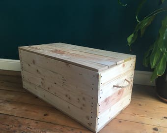 Reclaimed Wooden Trunk/Chest