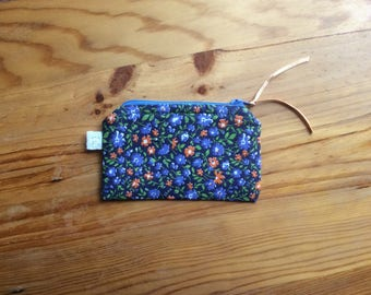 Quilted Liberty inspired floral wallet