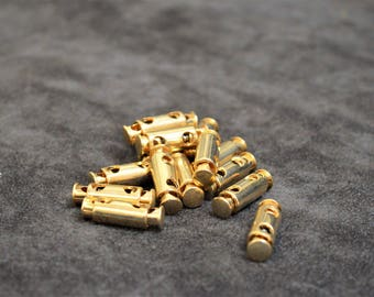 set of 15 stop cord gold 25mm