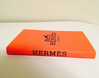 Hermes inspired fashion decorative book!