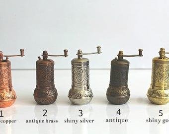 salt and pepper mill, pepper grinder, salt grinder, salt mill, pepper mill,vintage pepper mill,vintage salt mill,coffee grinder, coffee mill