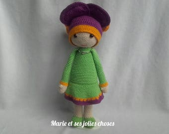 The purple doll-flower Vicky of website