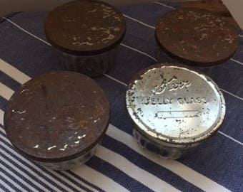 Vintage Kerr Small Jelly Jars