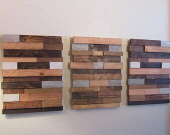Rustic Home Decor, Wood Wall Decor, Wood Art, Rustic Wood Decor, Wood