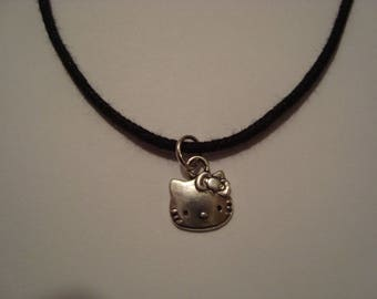 Cat Head pendant necklace