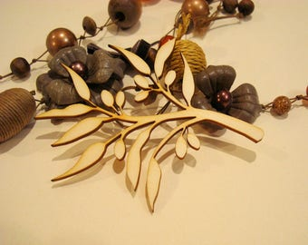 Olive branch 1664 small model for your scrapbooking page or card making