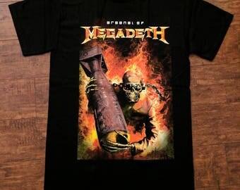 Megadeth - Arsenal of Megadeth Heavy Metal t shirt