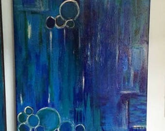 Acrylic on canvas/painting abstract