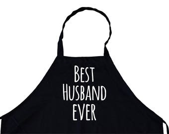 best husband ever Funny cooking Grill Aprons Kitchen Chef Bib for BBQ