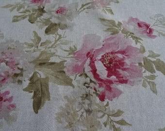 Beautiful rose pattern decoration fabric