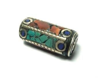 Ethnic Nepalese bead PE517