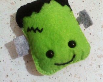 Frankenstein decoration or snowman