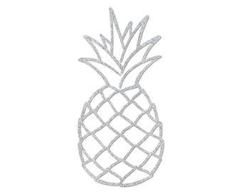 Pineapple motif in flex fusible - size and color choice