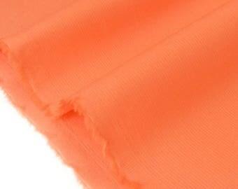 Nasturtium x50cm shaped cotton sateen fabric