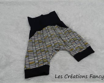 Scalable Navy shorts and Geometric 12M - 3T
