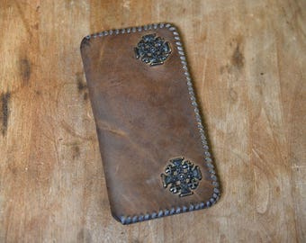 Leather Wallet - Handmade of Vintage Leather