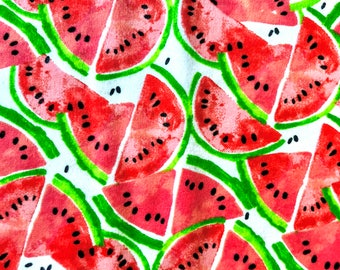 Watermelon Flannel Pillowcase