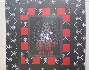Darth Vader Panel Quilt