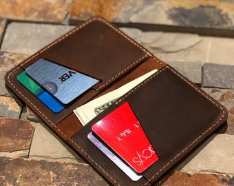 Wallet•Leather Wallet•Personalized Leather Wallet•Front Pocket Slim Design•Minimalist Credit Card Wallet•Mens Leather Wallets•