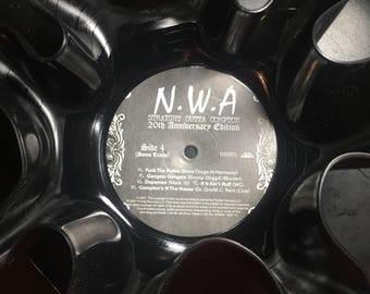 N.W.A. Vinyl Record Bowl