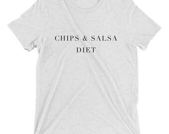 Chips & Salsa Diet Tri-Blend Tee