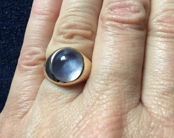 Gorgeous Blue Star Sapphire Ring