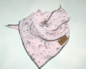Muslin cloth for children in pink