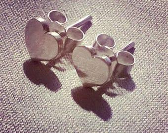 Earrings hearts